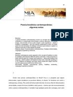 Poesia Brasileira Contemporânea Algumas Notas p.98 129