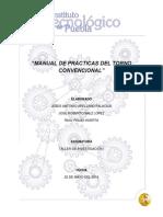Manual de Prácticas Del Torno Convencional
