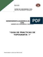 Guia de Prácticas Topografia I