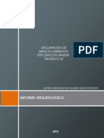 Informe Arqueologico - Moisesito Final