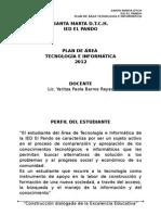 Plan de Area Tecnología e Informatica