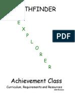 explorer class requirements