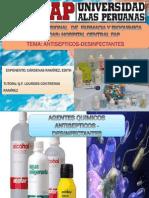 Expo de Antisepticos y Desinfectante