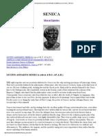 Introduction to Lucius Annaeus Seneca
