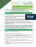 Modelo descrição de cargo