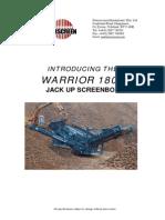 Powerscreen Warrior 1800