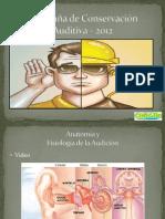 Campaña de Conservacion Auditiva - 2012