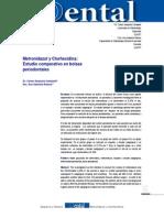 Metronidazol y Clorhexidina