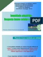 Aula 5- Resposta Imune Adaptativa - RIC e RIH