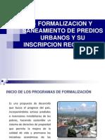 Saneamiento Formalizacion Ing. Nemesio