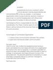 Centralized Organization
