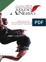 Programación Festival Cultural Amado Nervo 2014