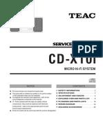 Teac-CDX10i Micro Sys