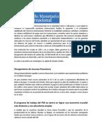 FMI, BM, BID