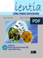 Jurnal Scientia Vol 2, No 1