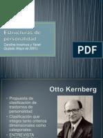 Estructuras de Personalidad