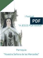 Concurso a Jesús Por María