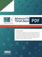 APT Survey Report 2014