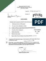 Vonderrit Myers bond documents