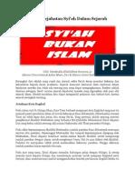 Potret Kejahatan Syiah
