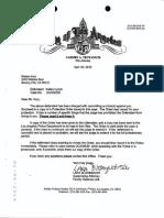 Kory Criminal Protective Order Against Kelley Lynch