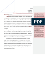 Assignment Two Draft With Peer Commentary (1)