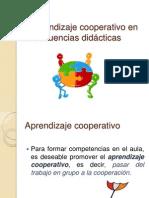 El Aprendizaje Cooperativo en Las Secuencias Didácticas