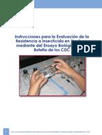 manual de instruccion de medicion de resistencia de vectores mediante metodo de la botella