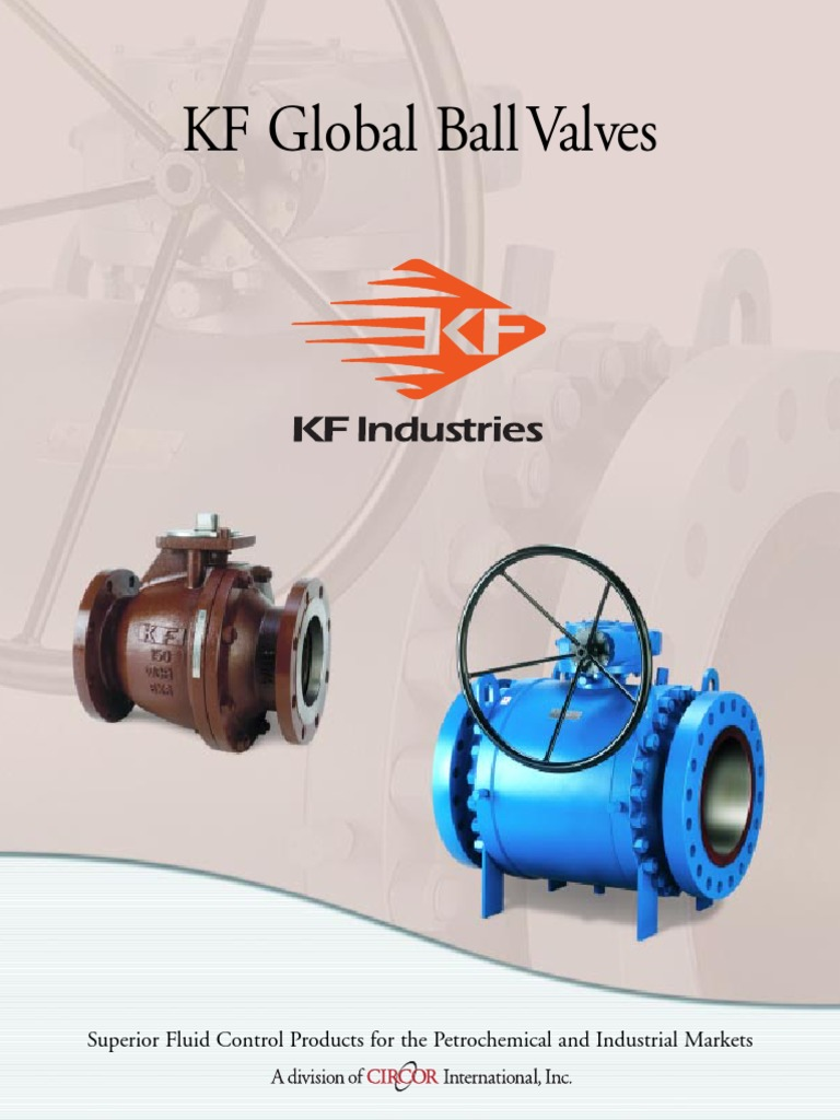 Kf Global Ball Valve