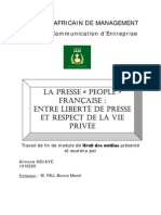 Press People Française par Alioune NDIAYE