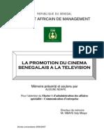 Promotion du Cinéma Sénégalais par la télévision