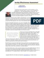 Leadership Effectiveness Assessment