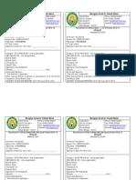 Bangiya Gramin Vikash Bank Exam Challan
