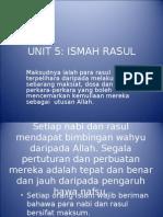 unit5 ismah rasul