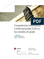 Competencias Informacionales Estudios Grado