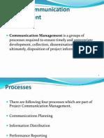 Communication Management 5