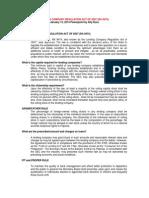 Lending Company Regulation Act of 2007