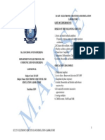 EC2257-Lab manual for circuits and simulation integrated laboratory