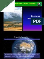 II° Sesión - FACTORES AMBIENTALES ABIÓTICOS