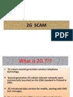 2g Spectrum Scam