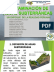 Contamincaciòn de Aguas Subterraneas en Peru