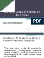 Ley de La Comisión Federal de Electricidad