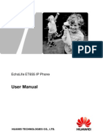 EchoLife ET655 IP Phone User Manual (V100R001C01LENT02_01).pdf