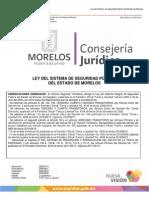 Ley del Sistema de Seguridad Pública del Estado de Morelos. 23/03/2014