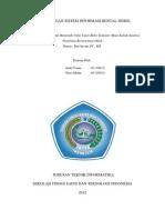Perancangan Sistem Informasi Rental Mobil