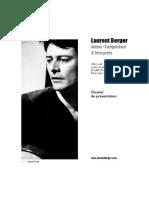 Laurent Berger  - Dossier de présentation