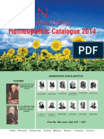 Homeopathy Catalogue 2014