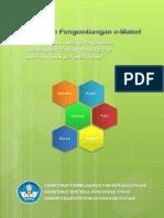 Pedoman Pengembangan E-Materi DIKTI 2012