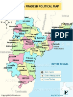 Andhra Pradesh Political Map