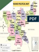 Jharkhand Political Map